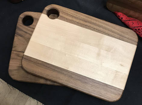 Maple Walnut Cutting Boards