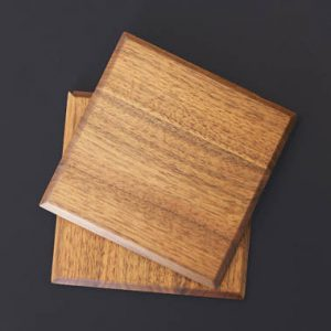 Solid Walnut Coasters