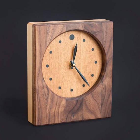Solid Wood Clock